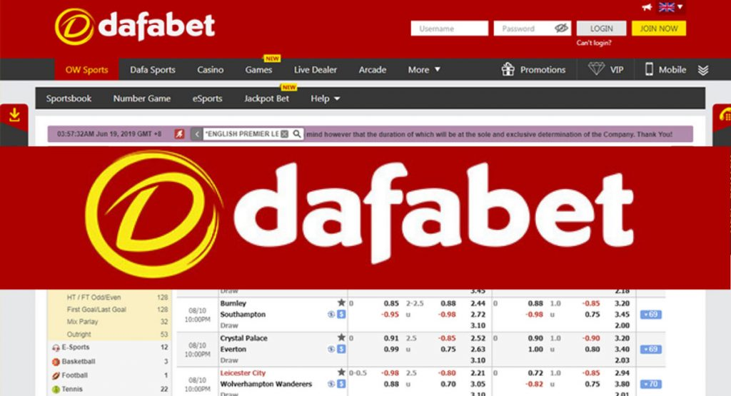 Dafabet is the betting site
