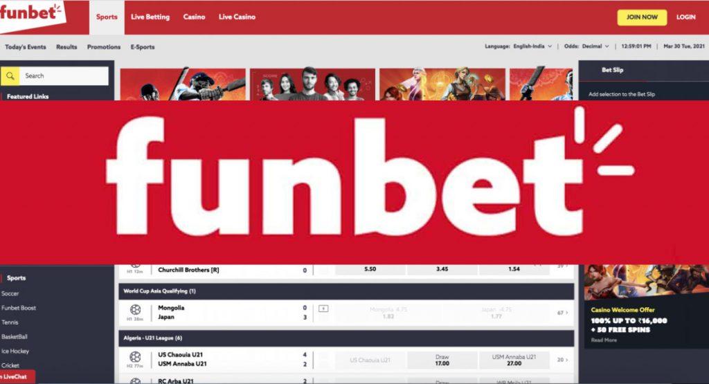 Funbet betting sites