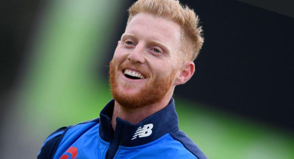 English cricketers Ben Stokes