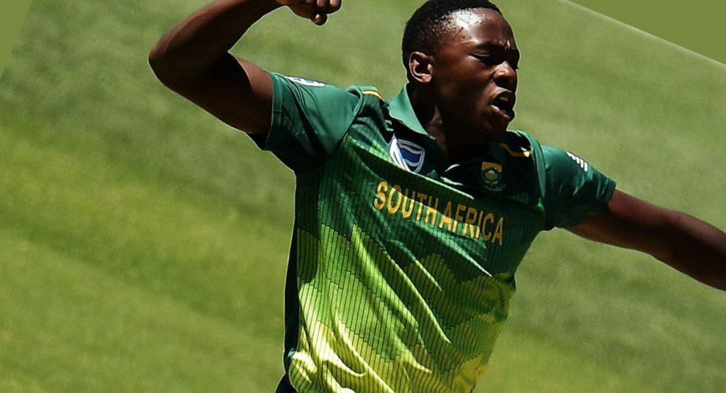 Cricketers Kagiso Rabada