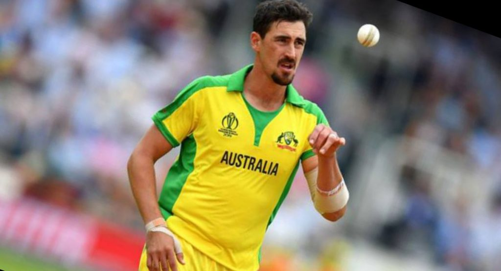 Сricketer that has a great reputation in the cricket world is Mitchell Starc