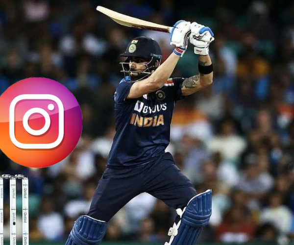 Top Seven Cricketers with Highest Number of Instagram Followers