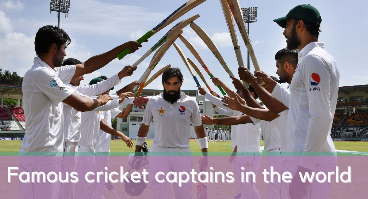 Cricket captains in the world