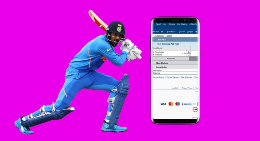 Cricket betting is popular and continues
