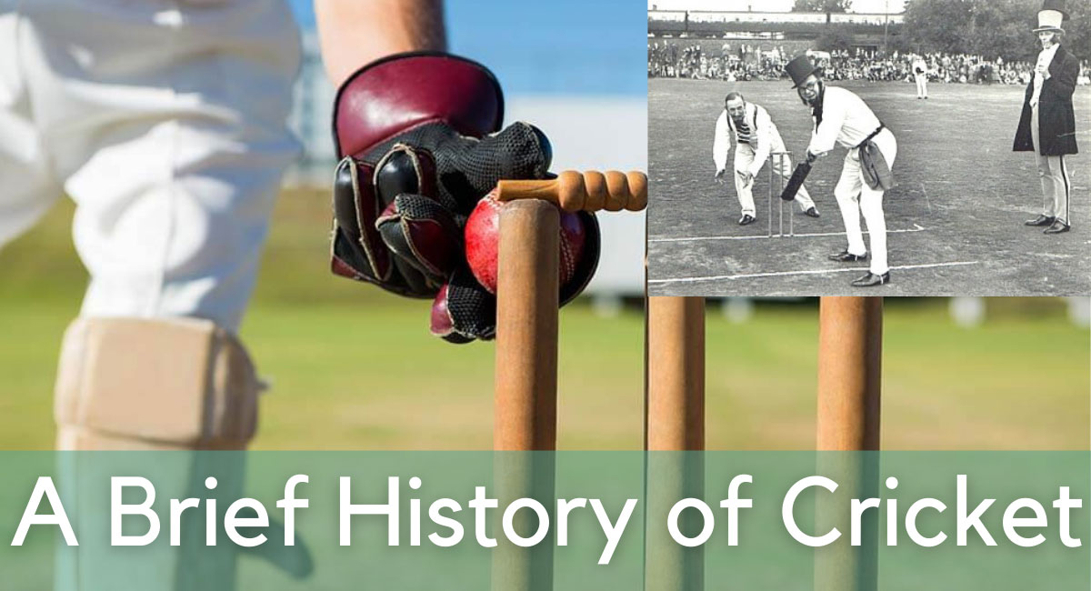 Where cricket originated