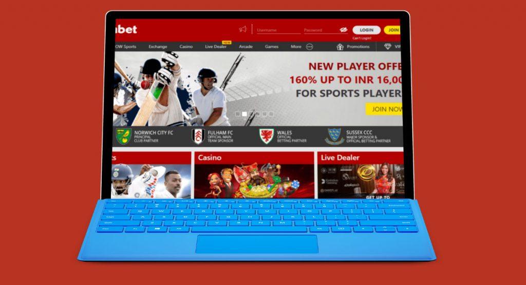 Online bookmaker cricket betting